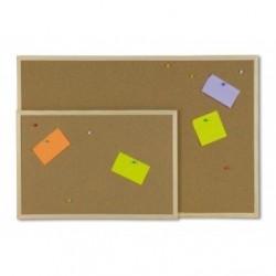 Pannello in sughero con cornice in legno - 60x90 cm
