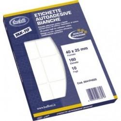 Etichette adesive permanenti multifunzione TAK-TO - 52 x 18 mm - Fogli DIN A5 - 10 etichette