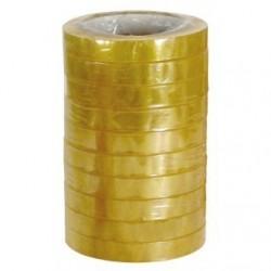 Nastro adesivo in PPL silenzioso - 66 m x 15 mm - torre da 10 pezzi