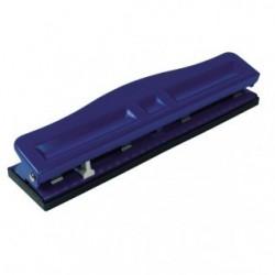 Perforatore a 4 fori regolabili - 10 fogli - blu
