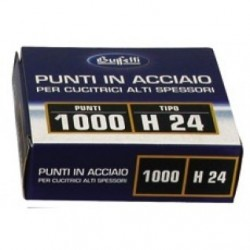 Punti metallici per alti spessori - Serie H 24/13 mm