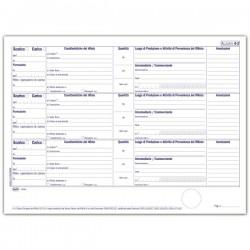 Carico - Scarico rifiuti per DETENTORI ( mod. A ) - Registro - 400 pagine
