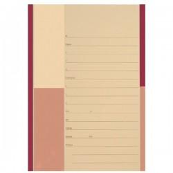 Cartelline due lembi Pratica Avvocati - cartoncino - 285 g/mq - 34,5x24,5 cm - rosso