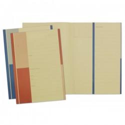 Cartelline tre lembi Produzione Avvocati - cartoncino - 240g/mq - 35x24,5 cm - rosso