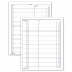 Autosaloni - Carico-Scarico autoveicoli in conto deposito presso gli autosaloni - Registro - 49 pagine