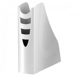 Portariviste Plastic Desk - colore bianco