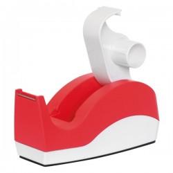 Tendinastro da scrivania - per nastri 19/25 mm x33/66 m - rosso