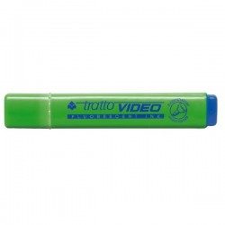 Evidenziatore Tratto Video - verde - Tratto 1- 5 mm - Punta a scalpello