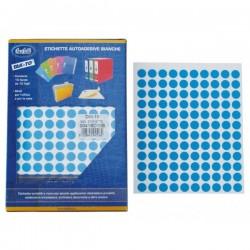 Etichette autoadesive colorate manuali - Diam. 22 mm