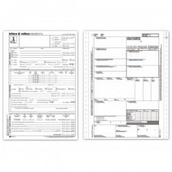 Lettera di vettura - internazionale (CMR) - Modulo continuo - 5 fogli