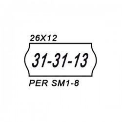 Etichette rimovibili 26 x 12 mm giallo