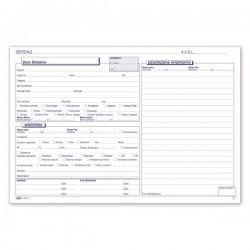 Medici - Registro operatorio - Blocco - 50 fogli
