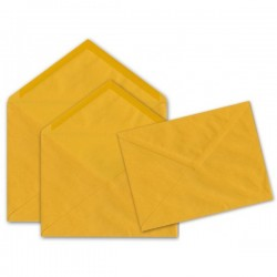 Buste gialle classiche e commerciali 12 x 18 cm - 80 g - conf. 50 pz.