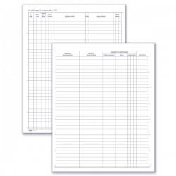 Ricevimento - Protocollo persone alloggiate (dati anagrafici clienti, estremi documento, data di arrivo/partenza) 400 pagine