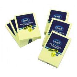 Blocchetti riposizionabili Tak-To - 75x50 mm - giallo
