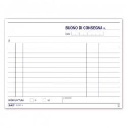 Buoni di consegna - Blocco - 50 fogli - 11,5x16,5 cm