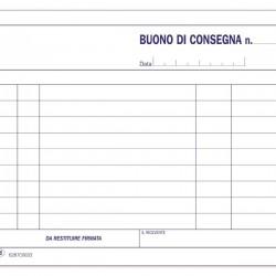 Buoni di consegna - Blocco - 33 fogli - 11,5x16,5 cm