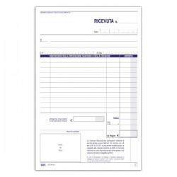 Ricevute sanitarie - Ricevute sanitarie e Registro onorari e fatture (vidimabile) - Blocco - 50 fogli