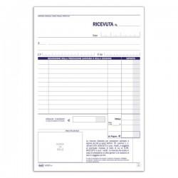 Ricevute sanitarie - Ricevute sanitarie e Registro onorari e fatture (vidimabile) - Blocco - 50 fogli numerati