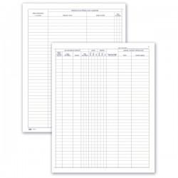 Autonoleggio - Noleggio autoveicoli - Registro - 49 pagine