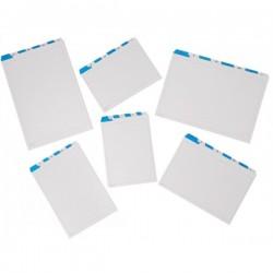 Rubrica alfabetiche per schedari - per schede 15x21cm