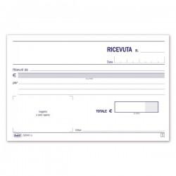 Ricevute di denaro - Blocco - 50 fogli autoricalcanti - F.to 10x16,8 cm