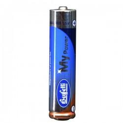 Pile alcaline Power Plus - ministilo AAA - conf. 4 pile