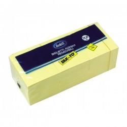 Blocchetti riposizionabili Tak-To - 40x50 mm - giallo