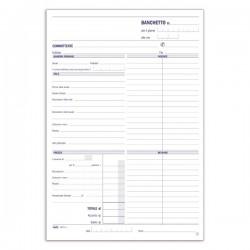 Conti - Preventivi e ordinativi per banchetti - Blocco - 50 fogli