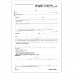 Sicurezza impianti - Dichiarazione di conformità dell'impianto alla regola d'arte - Snap out