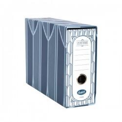 Raccoglitore Registratore Secretaire - Formato Memorandum - Dorso 8 cm - Blu