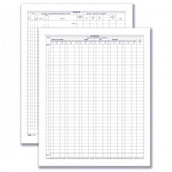 Registro Carico/Scarico oli minerali assoggettati ad accisa (mod. B - stazioni di servizio) - 49 pagine prenumerate - 31x24,5 cm