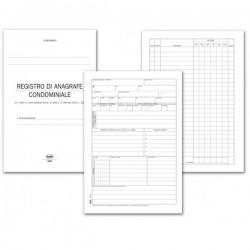 Registro Anagrafe e sicurezza condominiale - 64 pagine - 24x17 cm
