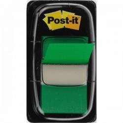 Segnapagina Post-it® Index 680 - verde - 25,4x43,2 mm