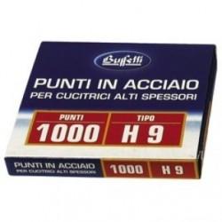 Punti metallici per alti spessori - Serie H 9/13 mm