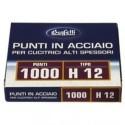 Punti metallici per alti spessori - Serie H 12/13 mm