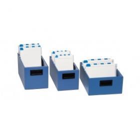Schedario In Metallo.Schedario In Metallo Aperti 1000 Schede Per Schede 24x17 Cm